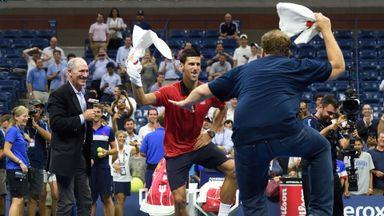 Funniest Tennis Moments of 2015