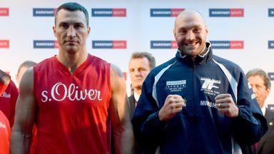 Klitschko v Fury rematch confirmed