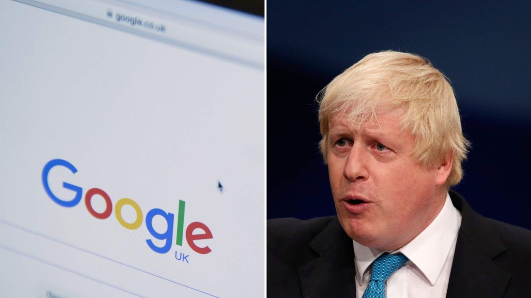 Boris Johnson wrote about the Google tax deal in The Daily Telegraph