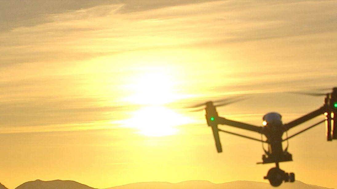 DJI Drone Helps Monitor Volcanic Activity