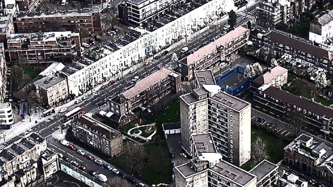 London Housing Estate