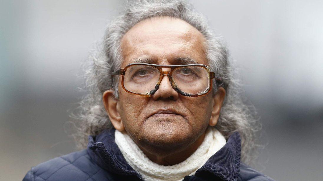 Aravindan Balakrishnan leaves Southwark Crown Court in London