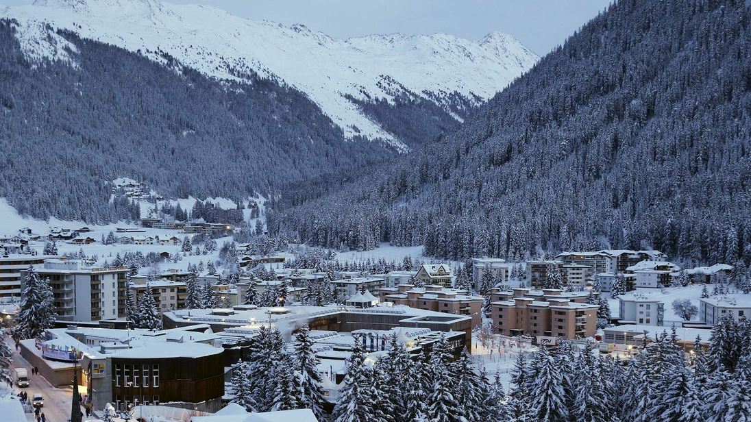 A general view of Davos ahead of the Annual Meeting 2016 of the World Economic Forum in Davos