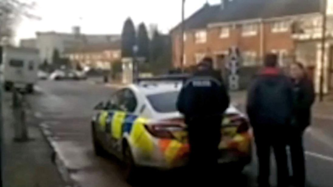 police at Tile Cross road Birmingham