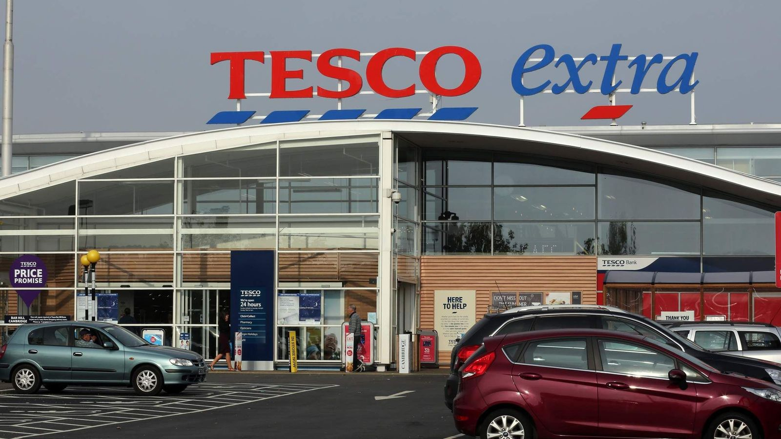 tesco reports annual sales growth for the first time in