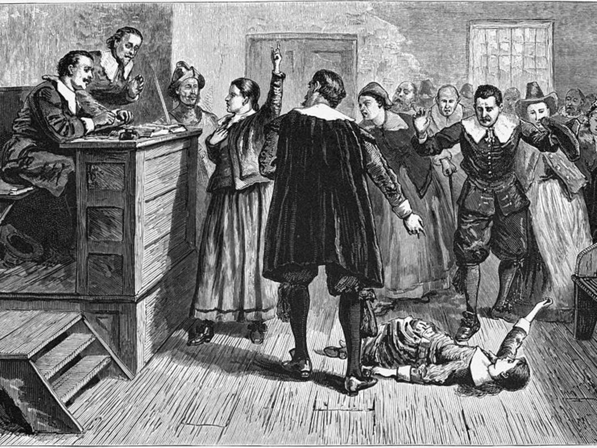 an overview of the infamous salem witchcraft trials of 1692 in massachusetts