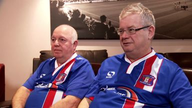 Carlisle fans clock up miles