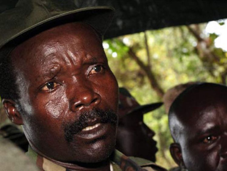Accused Ugandan warlord Joseph Kony
