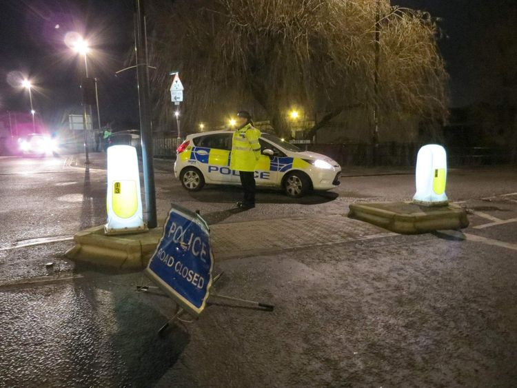 Two die after car plunges into canal in Bristol
