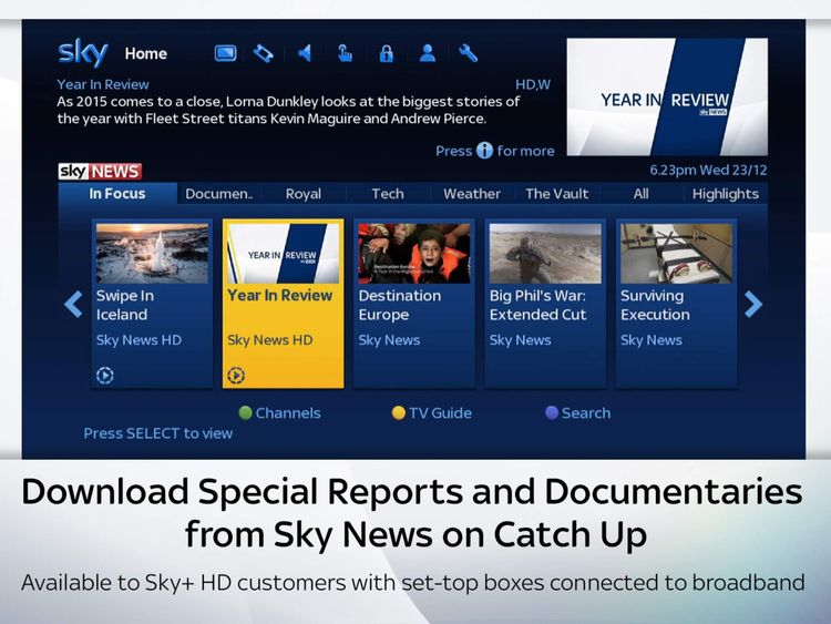 Catch Up on Sky.