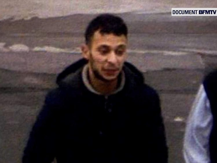 First security footage of suspected Paris attacker Salah Abdeslam Pic: BFMTV