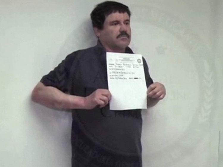 'El Chapo' in prison