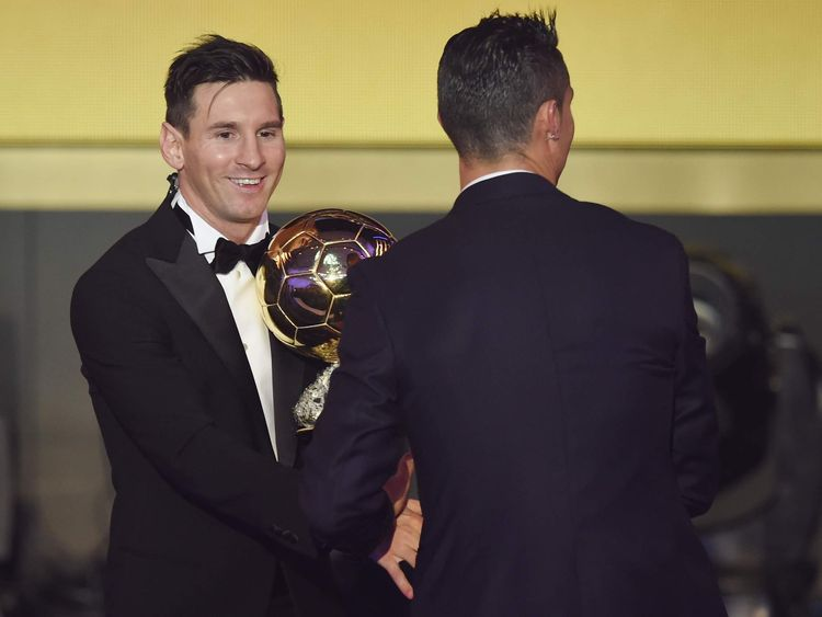 Lionel Messi wins the Ballon d'Or.
