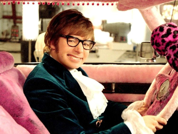 'AUSTIN POWERS IN GOLDMEMBER' FILM STILLS - 2002