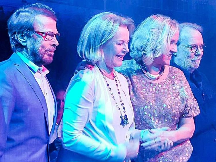 'Mamma Mia! The Party' the musical premiere, Stockholm, Sweden - 20 Jan 2016