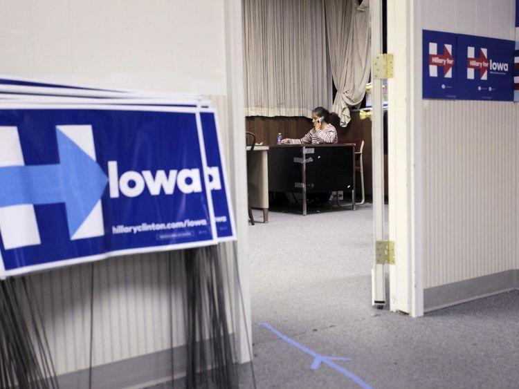 Iowa campaign