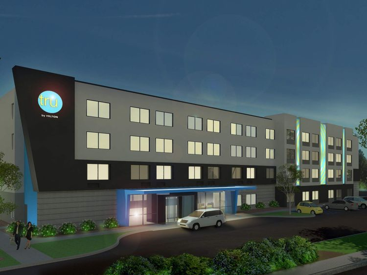 Hilton is launching Tru hotels for budget travellers. Pic: Hilton Worldwide
