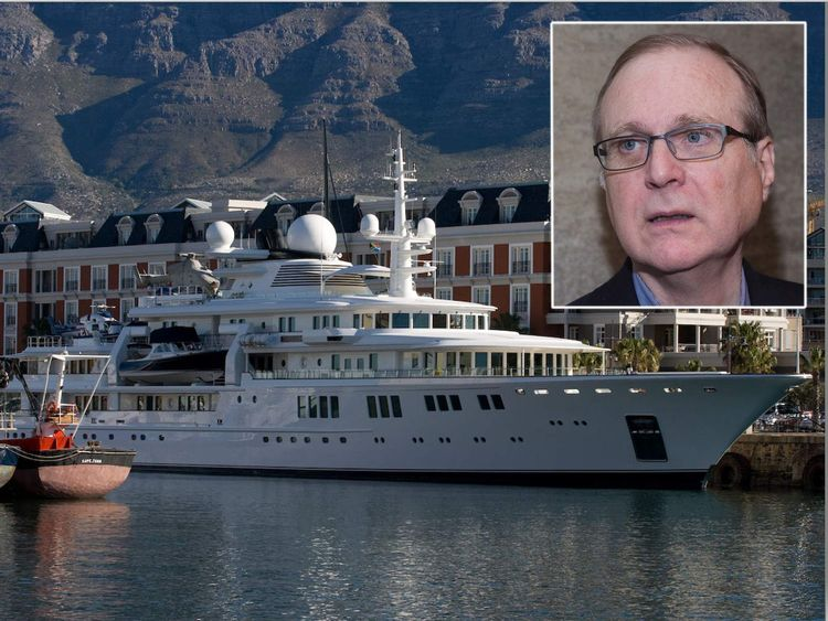The Tatoosh and Paul Allen