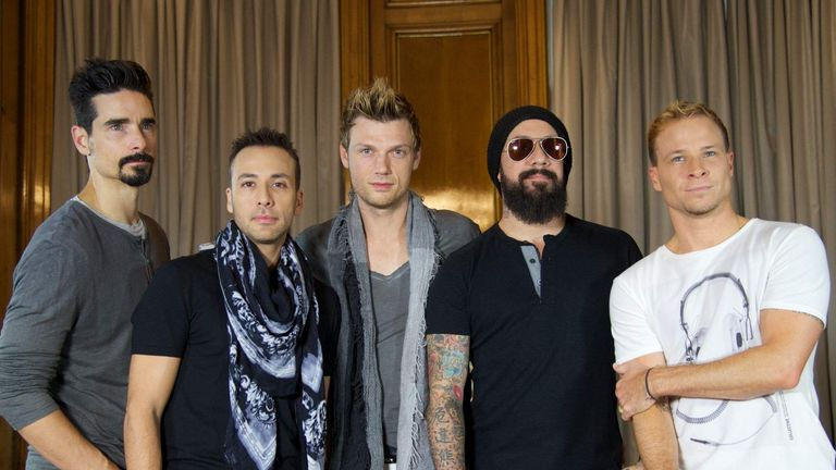 Backstreet Boys Madrid Photocall