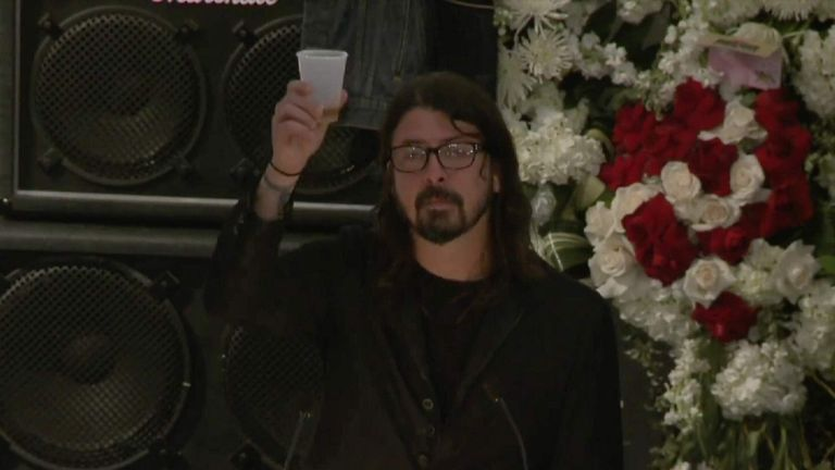 Dave Grohl: Lemmy Was My Hero