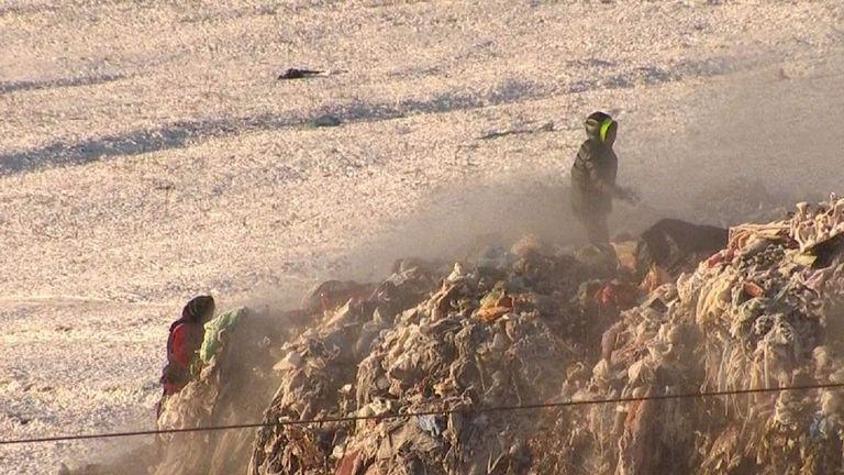 Romania Rubbish Dump Slums RAMSAY