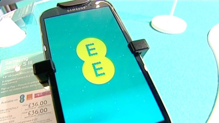 EE Mobile Phone