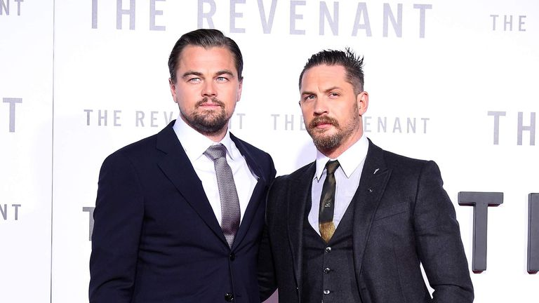fc55c69e8 DiCaprio And Hardy To Reunite At Revenant Premiere | Ents & Arts ...