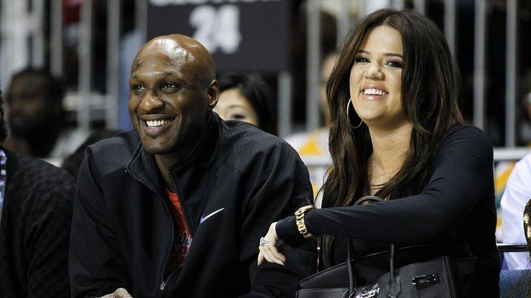 Khloe Kardashian Visits Lamar Odom In Hospital