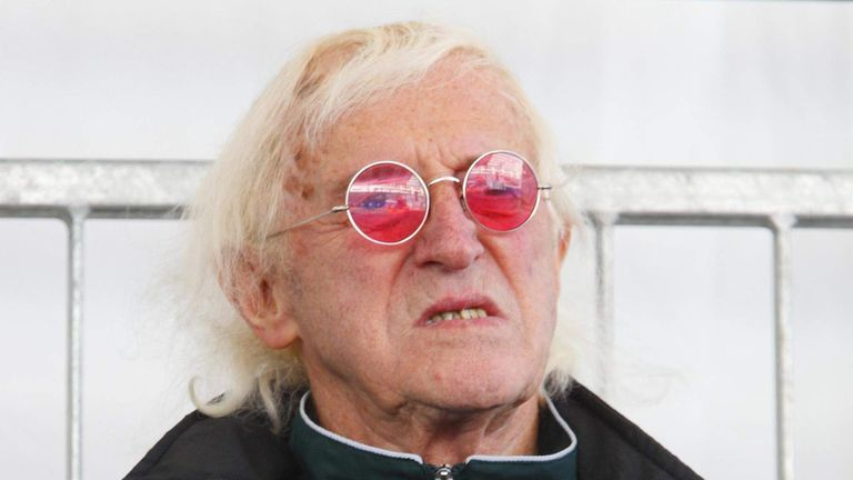 File photo of Jimmy Savile