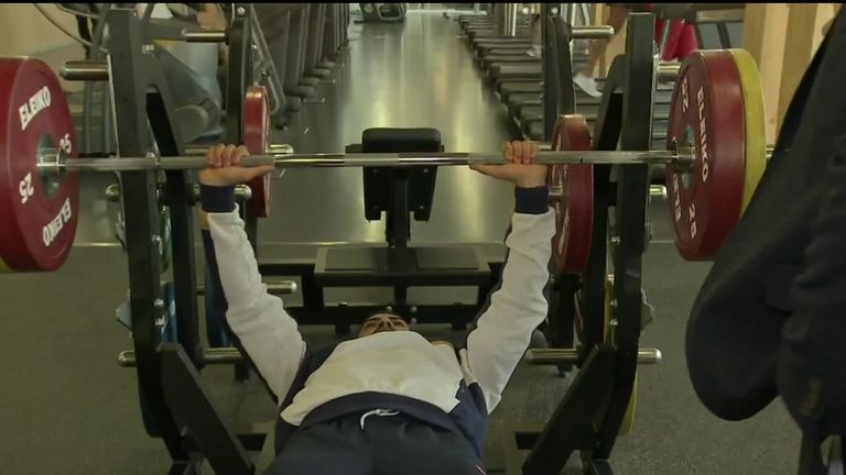Dixon V O Connor Bench Press Video Watch Tv Show Sky