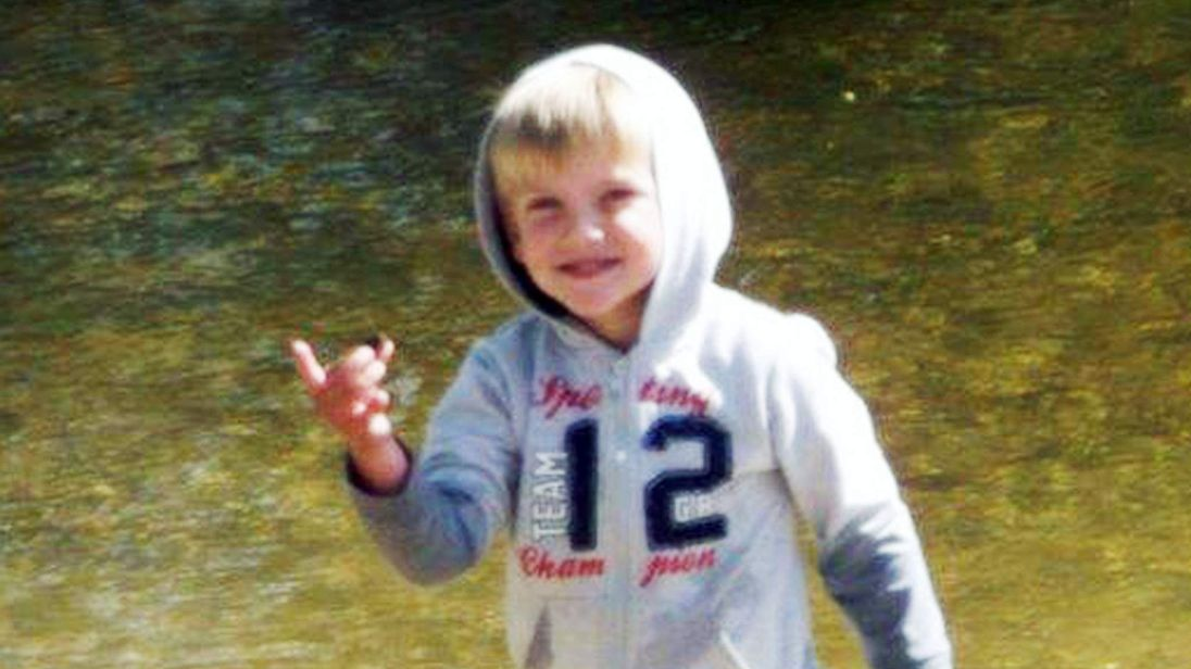 Liam Turner who died after apparently being hit by mum's car