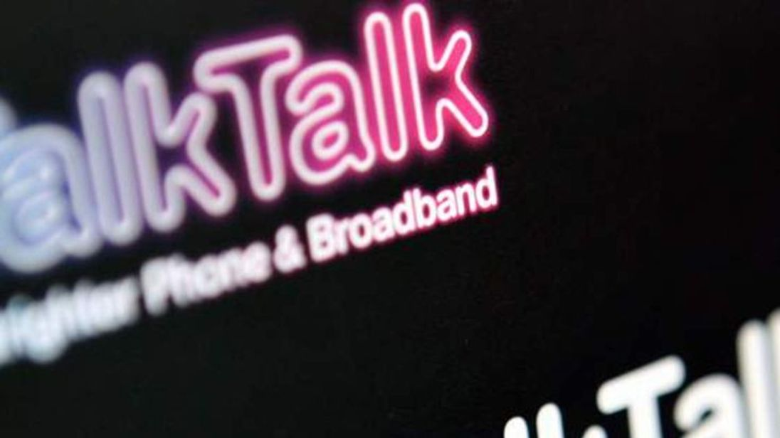 "TalkTalk shut down its site following a ""significant and sustained"" attack"