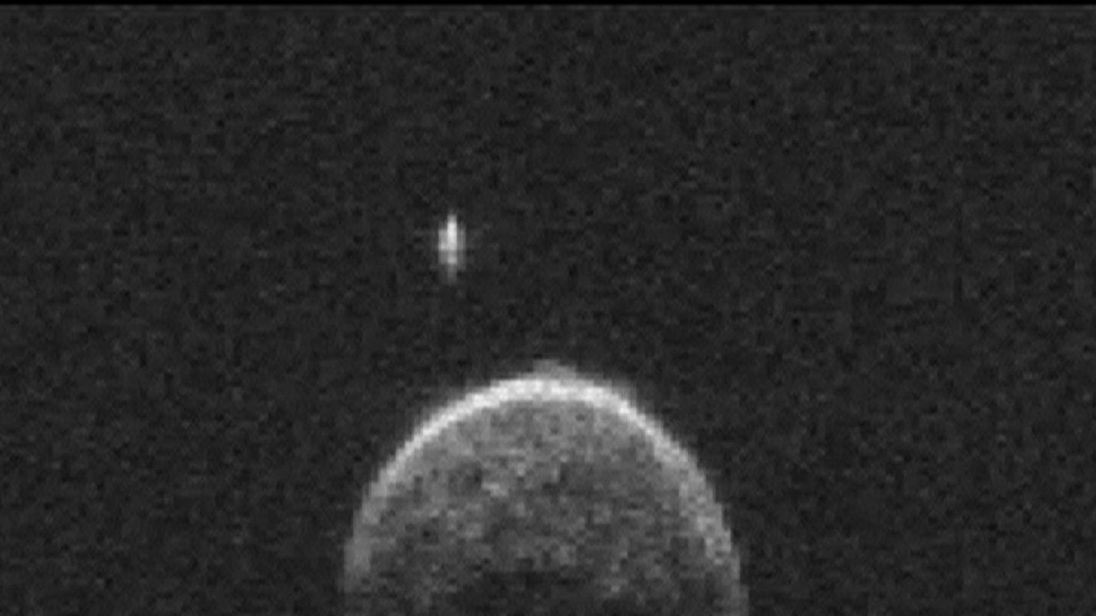 The asteroid was just 745,000 miles away from Earth