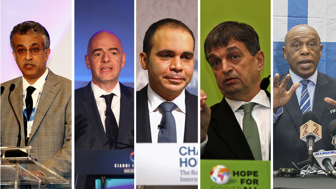 FIFA President Candidates