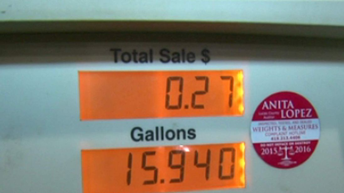Some customers got petrol for $0.01 per gallon after glitch saw prices drop at station in Toledo, Ohio