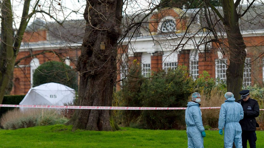 Dead Body Found In London's Hyde Park