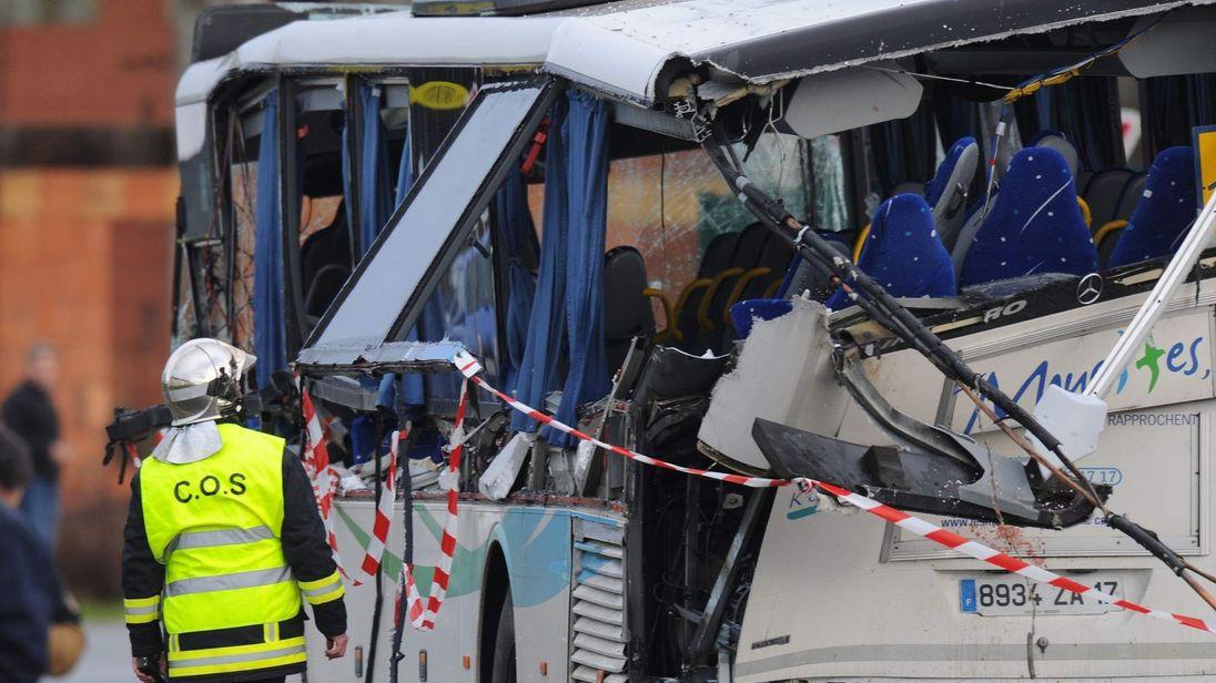 FRANCE-ROAD-ACCIDENT-EDUCATION-CHILDREN