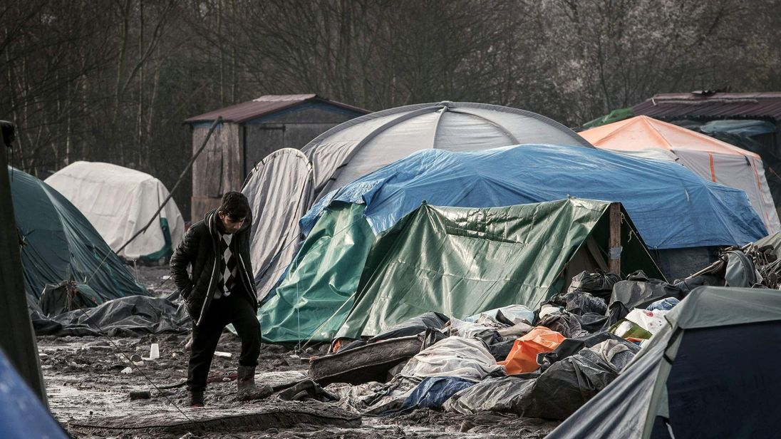 FRANCE-GB-IMMIGRATION-REFUGIES-GRANDE-SYNTHE-MIGRANTS-EUROPE