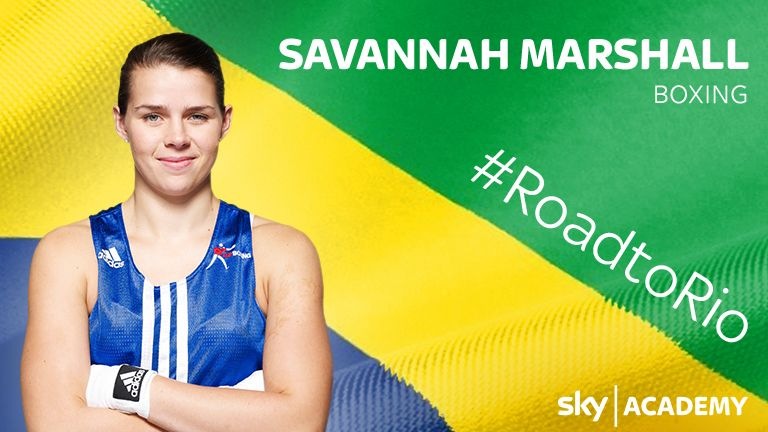 Sky Academy Scholar and boxer Savannah Marshall Q&A with six months