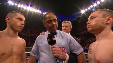 Frampton v Quigg: As it happened