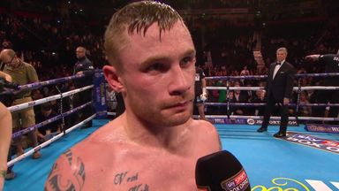 Frampton wins split decision