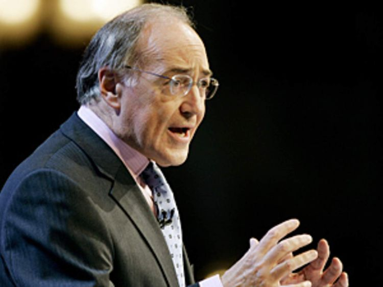 Former leader of the Conservative party Michael Howard