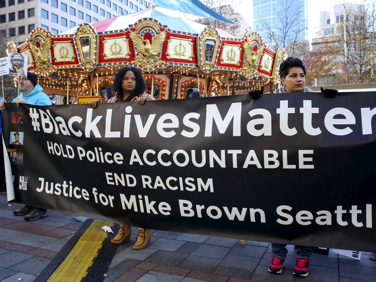 Black Lives Matter activists