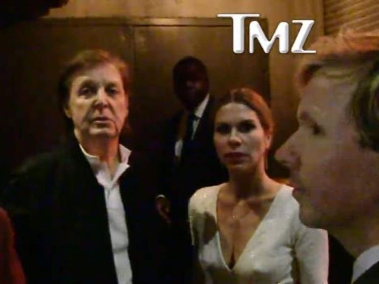 Paul McCartney refused entry to party