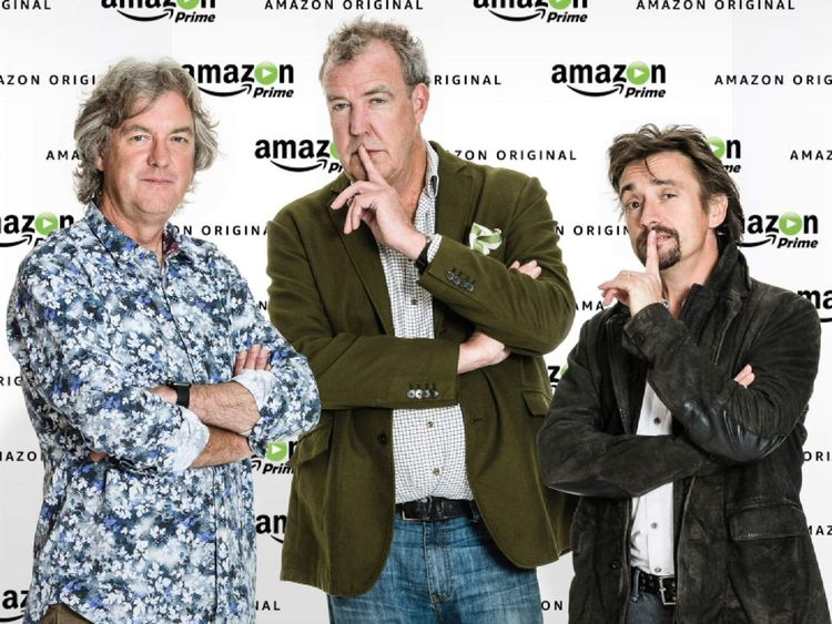 TOP GEAR PRESENTERS: CLARKSON MAY HAMMOND