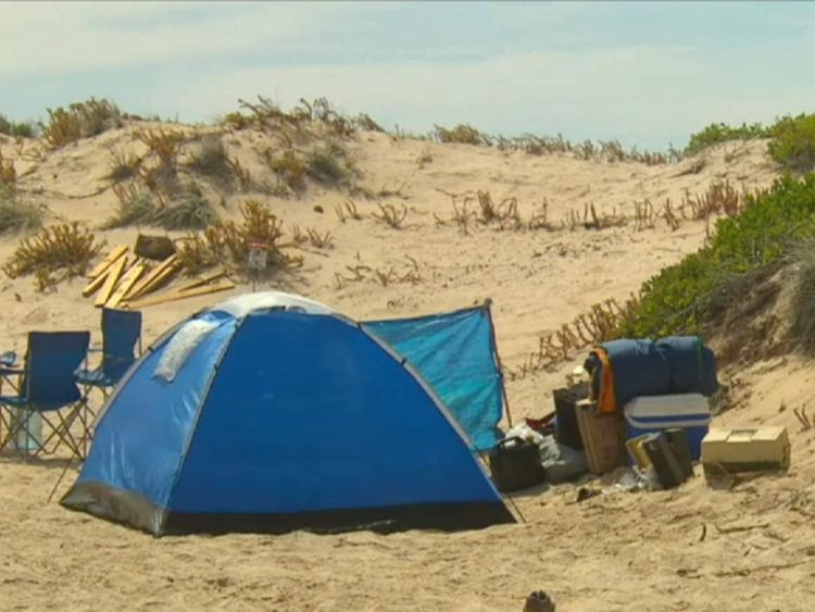 The women had been camping at Coorong National Park