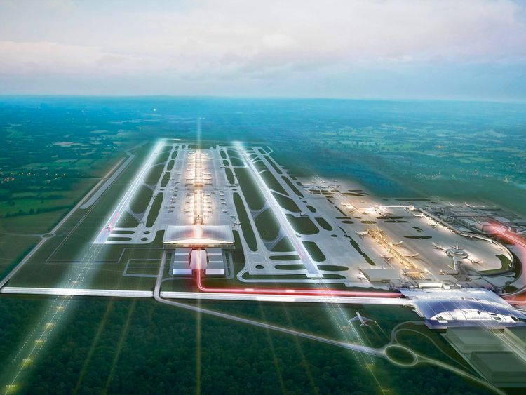 Gatwick Airport proposal for second runway 2014