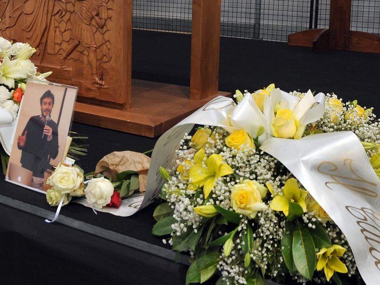 Giulio Regeni funeral