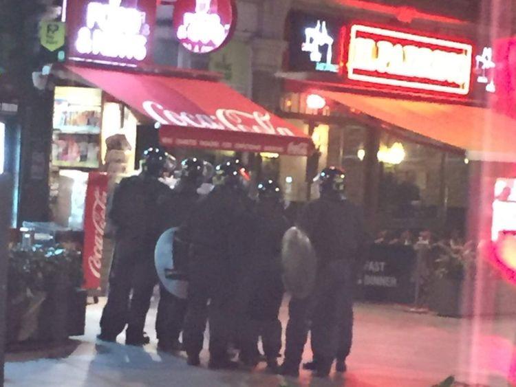 Bella Italia hostage situation