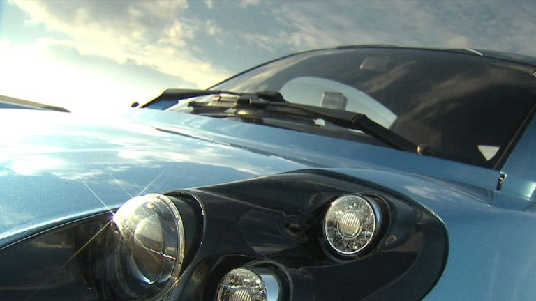 Prototype hydrogen car named Rasa designed by Riversimple 2